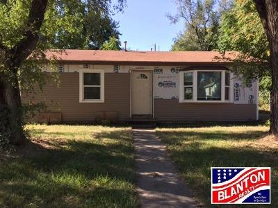 Junction City Single Family Home For Sale: 1221 West 19th St