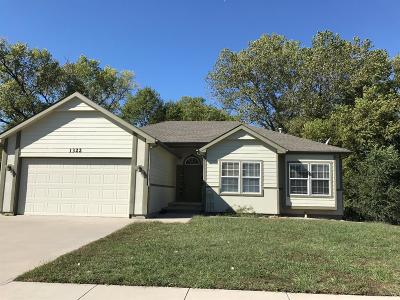 Junction City Single Family Home For Sale: 1322 Elm Creek Drive