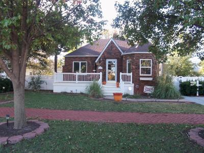 Great Bend KS Single Family Home Sale Pending: $109,900