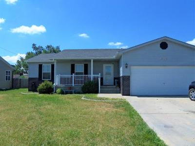 Great Bend KS Single Family Home For Sale: $122,000