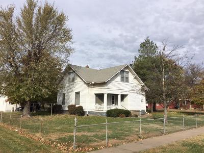 Ellinwood KS Single Family Home For Sale: $89,900