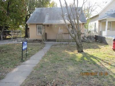 Junction City Single Family Home For Sale: 201 East Elm