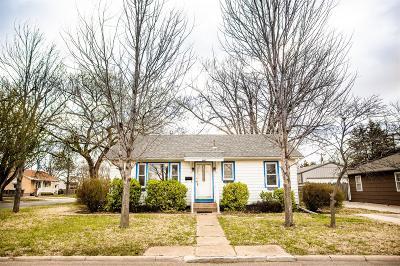 Abilene Single Family Home For Sale: 1607 North Kuney Street
