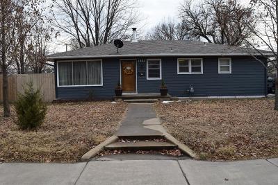Abilene Single Family Home For Sale: 1003 Northwest 3rd Street