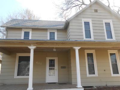 Abilene Single Family Home For Sale: 411 Northwest 5th