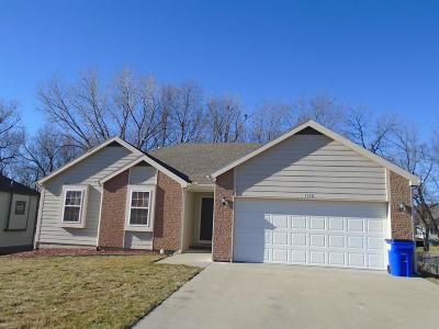 Junction City Single Family Home For Sale: 1316 Elm Creek Drive