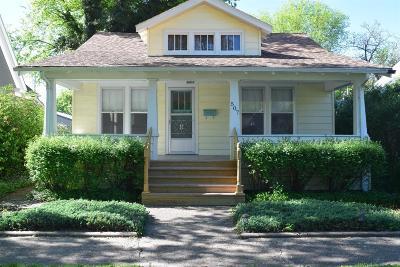 Abilene Single Family Home For Sale: 507 Northwest 6th