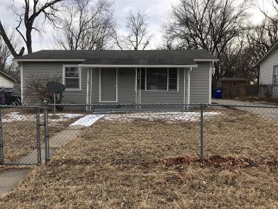 Junction City Single Family Home For Sale: 1213 West 17th