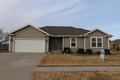 Junction City Single Family Home For Sale: 1928 Saddle Drive