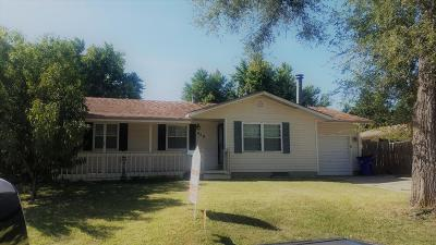 Junction City Single Family Home For Sale: 909 Cedar Street