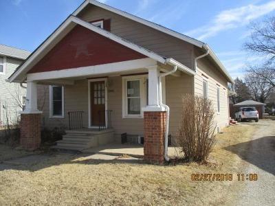 Abilene Single Family Home For Sale: 1505 North Buckeye Avenue