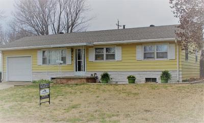 Abilene Single Family Home For Sale: 202 Hilltop
