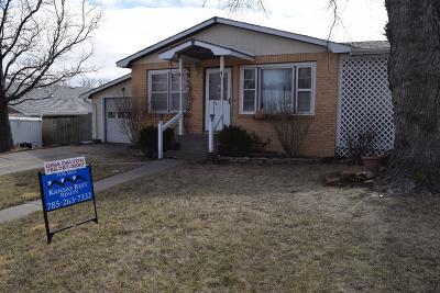 Abilene Single Family Home For Sale: 1709 Overhill Road