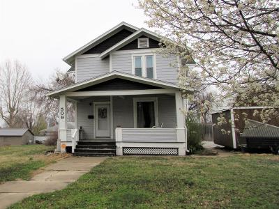 Junction City Single Family Home For Sale: 509 South Adams