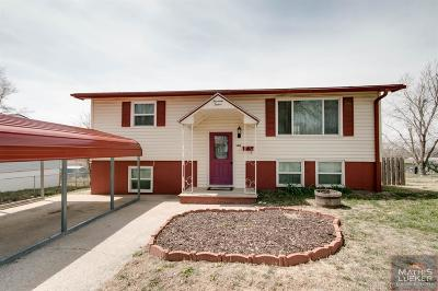 Junction City Single Family Home For Sale: 1412 Hale Drive