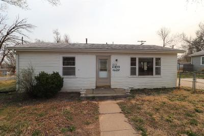 Junction City Single Family Home For Sale: 1201 West 20th