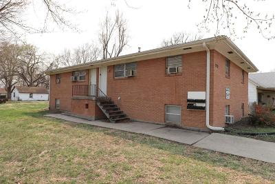 Junction City Multi Family Home For Sale: 223 East 2nd Street