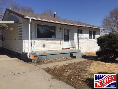 Junction City Single Family Home For Sale: 1406 West 16th Street