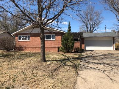 Abilene Single Family Home For Sale: 409 Hillside Street