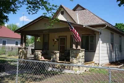 Herington Single Family Home For Sale: 402 North D Street