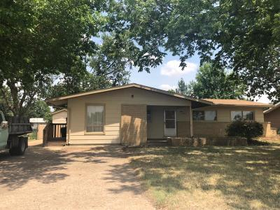 Abilene Single Family Home For Sale: 1513 North Olive