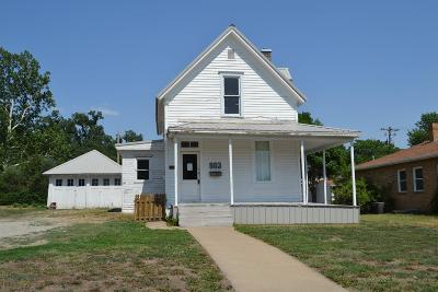 Abilene Single Family Home For Sale: 903 North Cedar Street