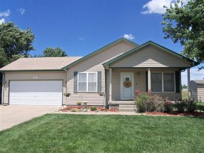 Great Bend KS Single Family Home For Sale: $153,900