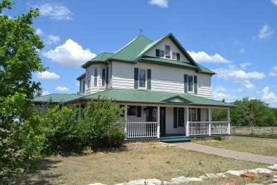 Abilene Single Family Home For Sale: 1777 Hawk Road
