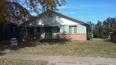 Abilene Single Family Home For Sale: 1108 Northwest 3rd