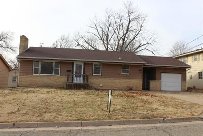 Abilene Single Family Home For Sale: 1116 North Brown Street
