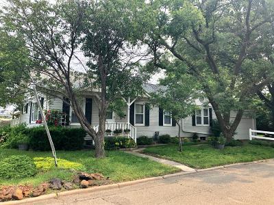 Abilene Single Family Home For Sale: 101 Northeast 16th