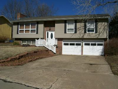 Manhattan Single Family Home For Sale: 3416 Chimney Rock Road