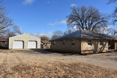 Abilene Single Family Home For Sale: 1107 Hickok Street