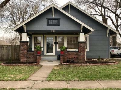 Abilene Single Family Home For Sale: 408 Northeast 13
