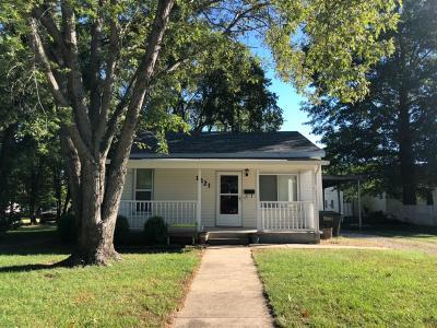 Abilene Single Family Home For Sale: 1321 Northwest 2nd