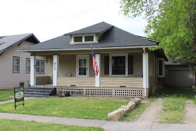 Dickinson County Single Family Home For Sale: 918 Northwest 2nd Street