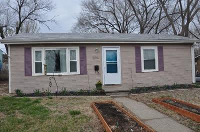 Junction City Single Family Home For Sale: 1216 West 19th