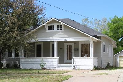 Abilene Single Family Home For Sale: 802 North Olive