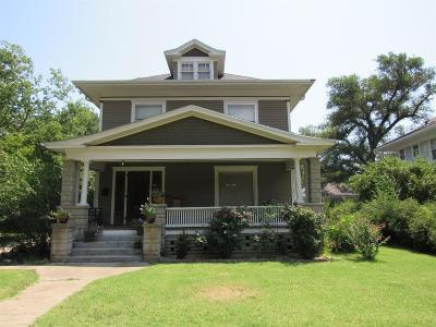 Abilene Single Family Home For Sale: 1205 North Buckeye