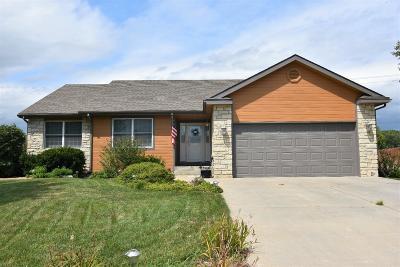 Manhattan Single Family Home For Sale: 4056 Bald Eagle Drive