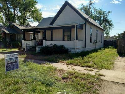 Garden City KS Single Family Home For Sale: $105,000