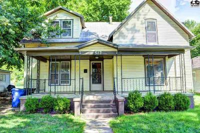 McPherson Single Family Home For Sale: 512 N Walnut St