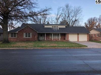 Hutchinson Single Family Home For Sale: 2805 N Van Buren St