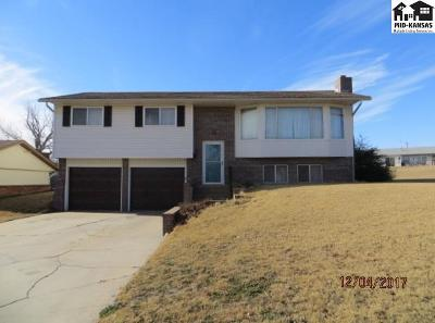 Pratt KS Single Family Home For Sale: $141,000