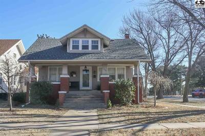 Pratt Single Family Home For Sale: 524 S Pine St