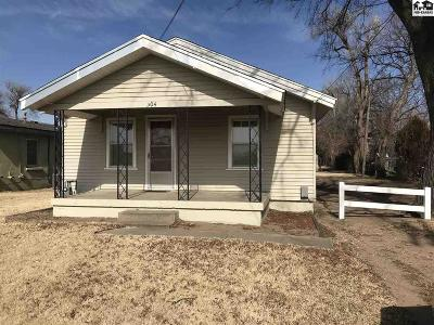 South Hutchinson Single Family Home For Sale: 304 E 3rd Ave