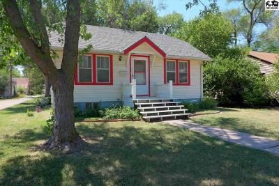 McPherson Single Family Home For Sale: 119 N Charles St