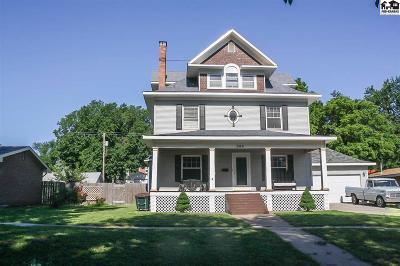 Pratt Single Family Home For Sale: 309 S Pine St