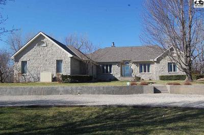 Hutchinson Single Family Home For Sale: 10695 E Snokomo Rd