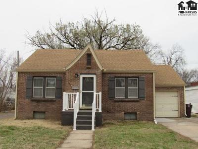 McPherson KS Single Family Home For Sale: $109,000